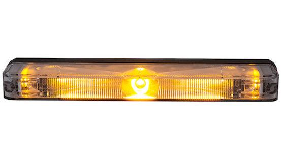 Narrow Profile 5 Inch LED Strobe Light Series - Amber