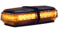 11 Inch Rectangular LED Mini Lightbar Series - Amber