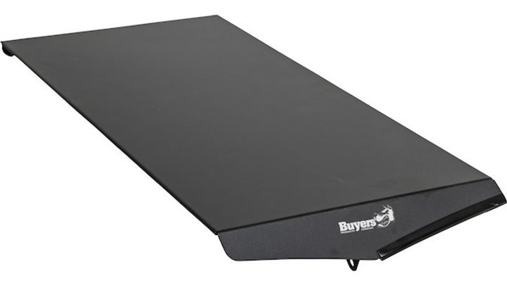 Buyers  Drill-Free Light Bar Cab Mount 2020 Chevy/GMC 1500-4500 w/Spoiler