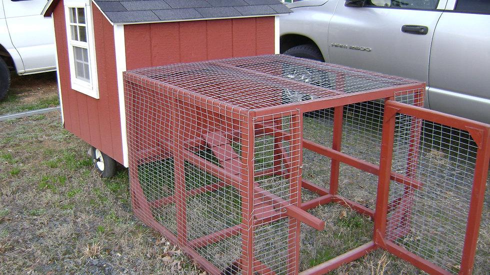 Chicken Coop/Tractor 6x8 - #52459
