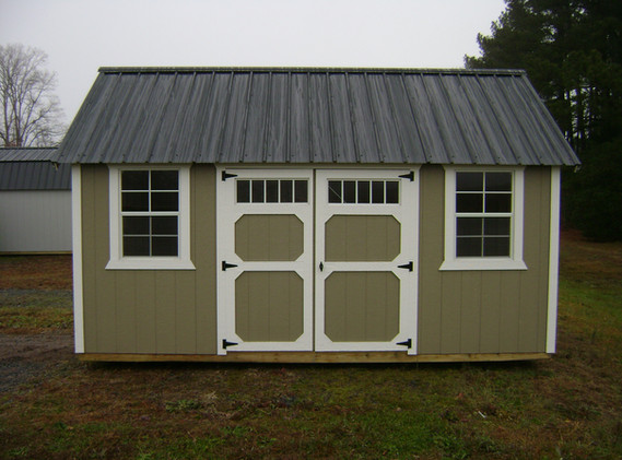 Side Lofted Garden Shed - PGSL-8722-1016