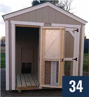 2 - Kennel Front Door Open