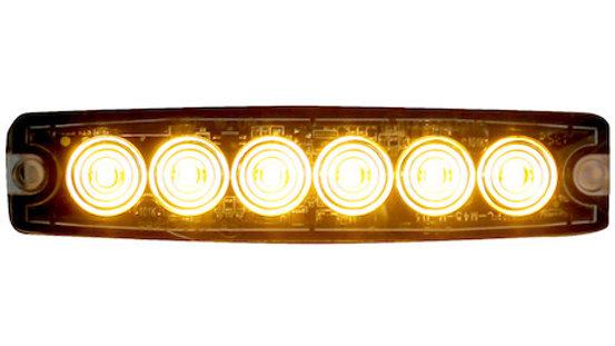 Ultra Thin 5 Inch Amber LED