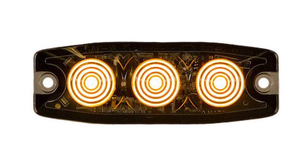 Ultra Thin 3.5 Inch Amber LED