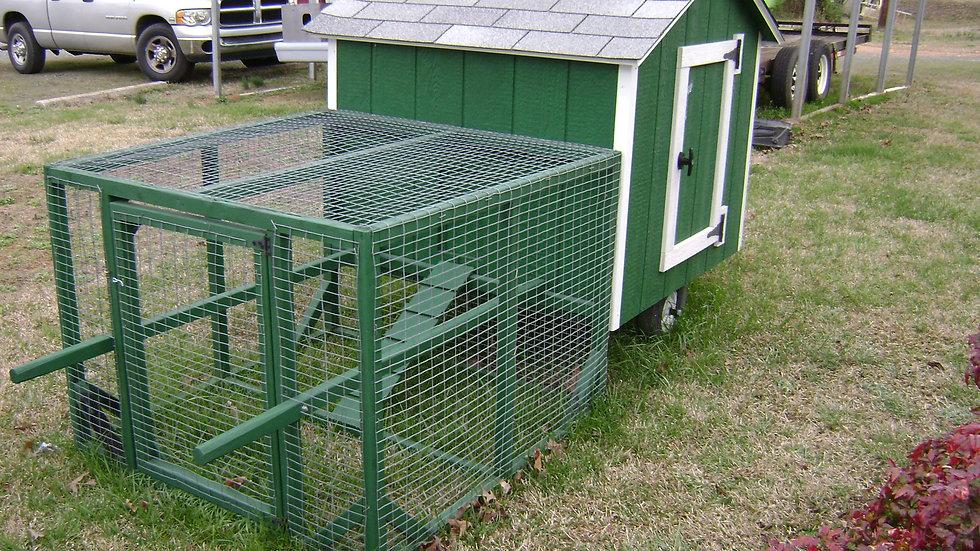 Chicken Coop/Tractor 6x8 - #52469