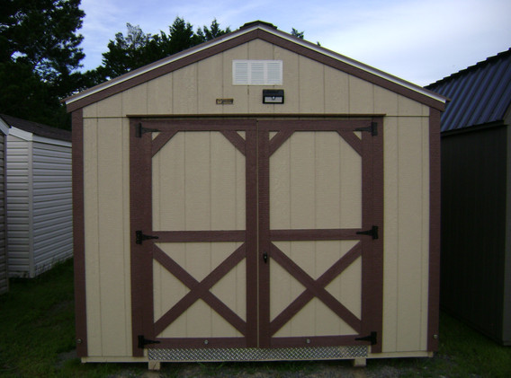 10x12 Painted Smart Shed Front