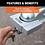 "Thumbnail: HITCH & COUPLER LOCK SET #23086 (2""RECEIVER, 1/2"" TO 2-1/2""LATCH, 1-7/8"" & 2LIP)"