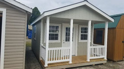 Gray Porch