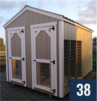 2 - Kennel Right Front