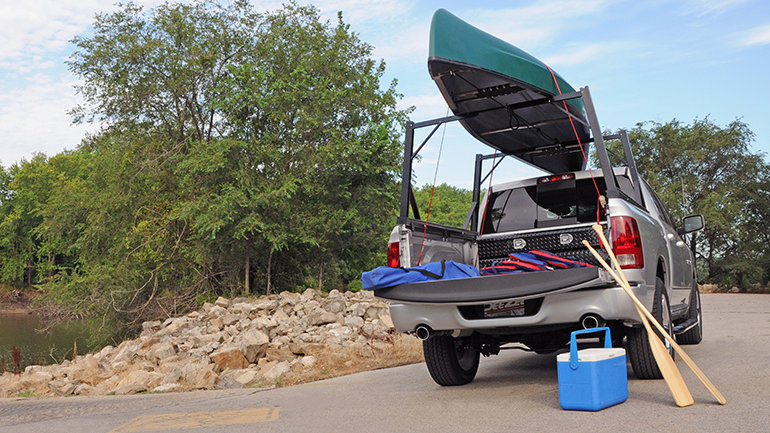 DEE ZEE Invis-A-Rack Cargo System, 06-09 Lincoln Mark Lt, with 5.5' Bed
