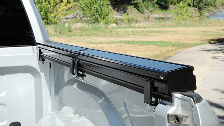 DEE ZEE Invis-A-Rack Cargo System, 08-14/17-20 Nissan Titan, with 8' Bed