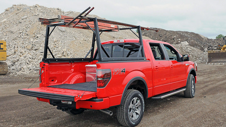 DEE ZEE Invis-A-Rack Cargo System, 04-20 Ford F150, with 5.5' Bed