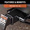 """Thumbnail: 5/8"""" HITCH LOCK #23025 (3"""" RECEIVER, BARBELL, CHROME)"""
