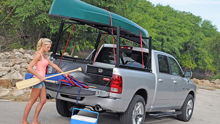 DEE ZEE Invis-A-Rack Cargo System, 16-20 Nissan Titan, with 5.5' Bed