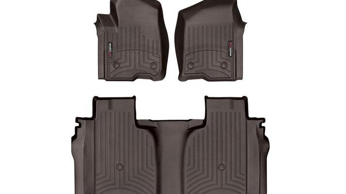 WeatherTech 19-20 Chevrolet Silverado 1500 FloorLiner 1st & 2nd Row with Storage