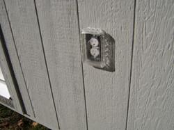 Outside Electric Socket