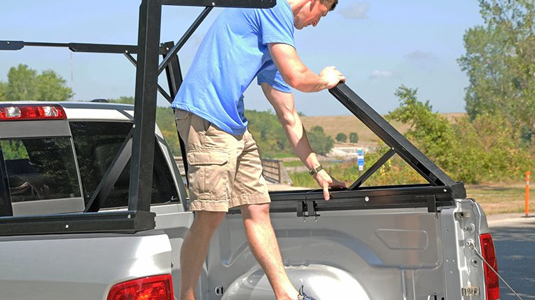 Invis-A-Rack Cargo System 06-18 Frontier, 15-20 Colorado/Canyon, with 6' Beds