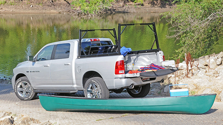 DEE ZEE Invis-A-Rack Cargo System 06-07 Classic Chevy2500HD/3500HD with 5.5'