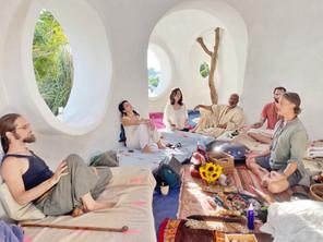 Sacred circle gathering, private group