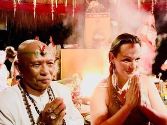Agni Hotra (Fire Ceremony) in Bali