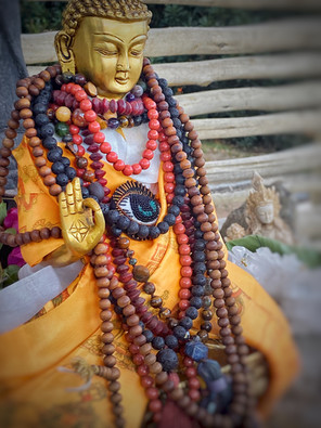 A sacred Buddha from Bhutan, blessed by 300 monks