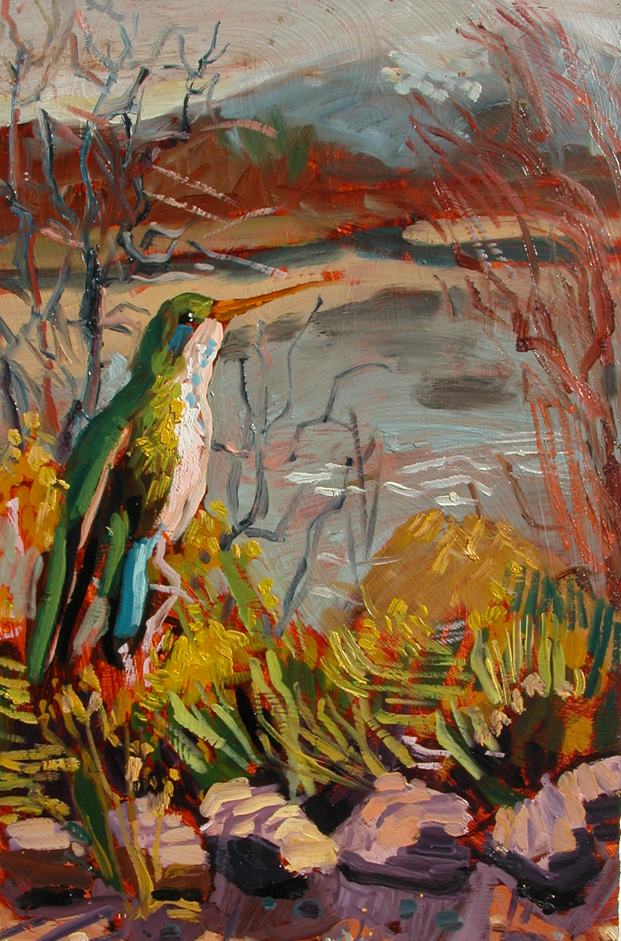 """Bosque Bird November"""