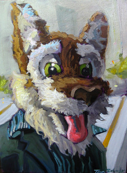 """Striped Wolf Furry"""