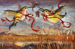 """Bosque New Years Birds"""