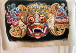 """Mask: Tribute to Hanuman"""