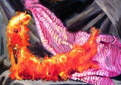 """""""Lea's Pink Striped Ermine"""""""
