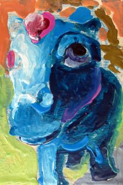 Blueberry Pony