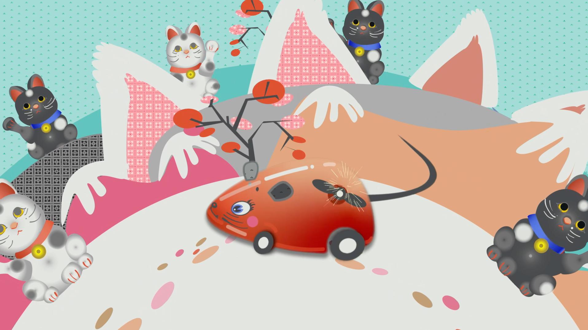Mechanical Mouse in Neko World