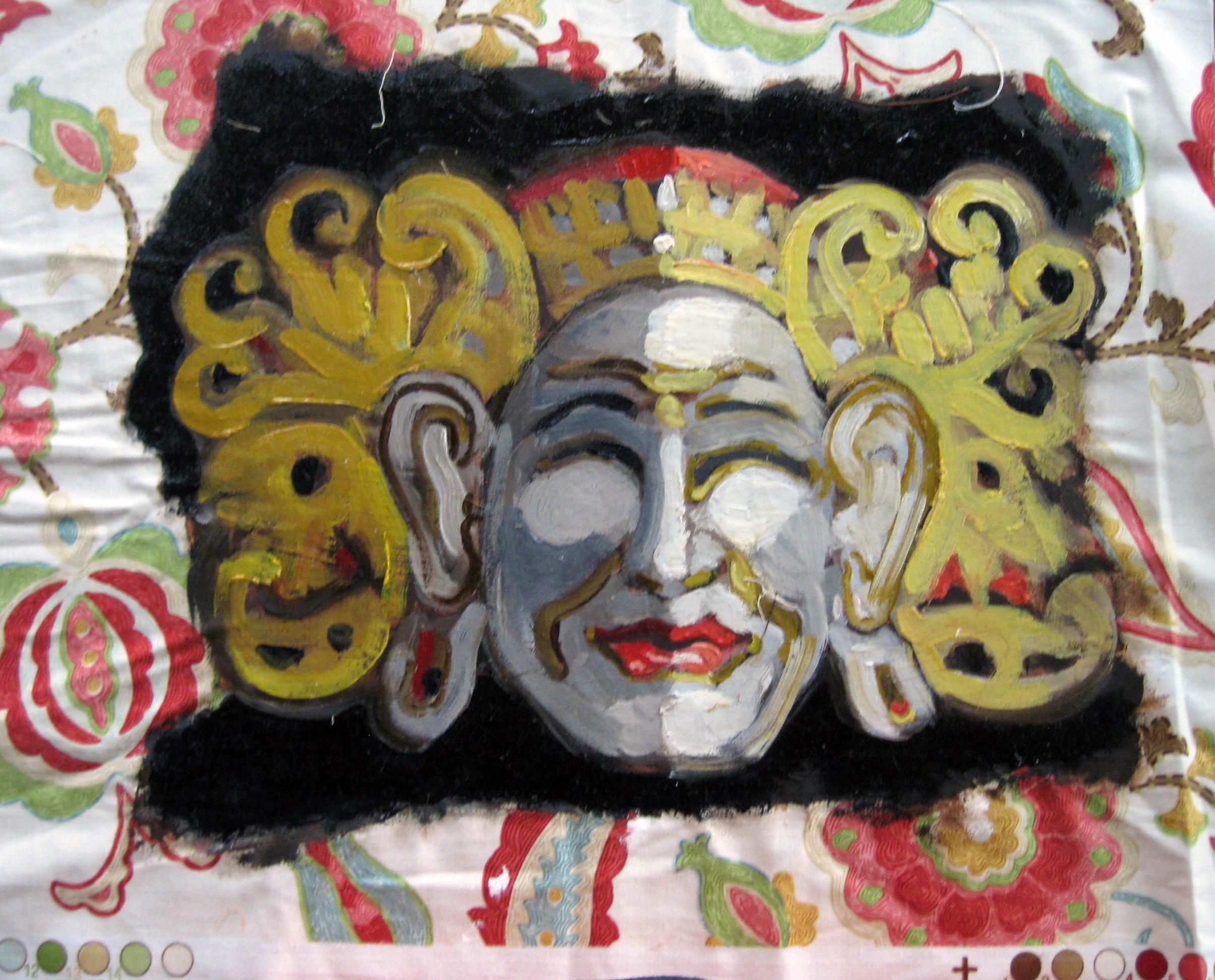 Indonesian inspired mask