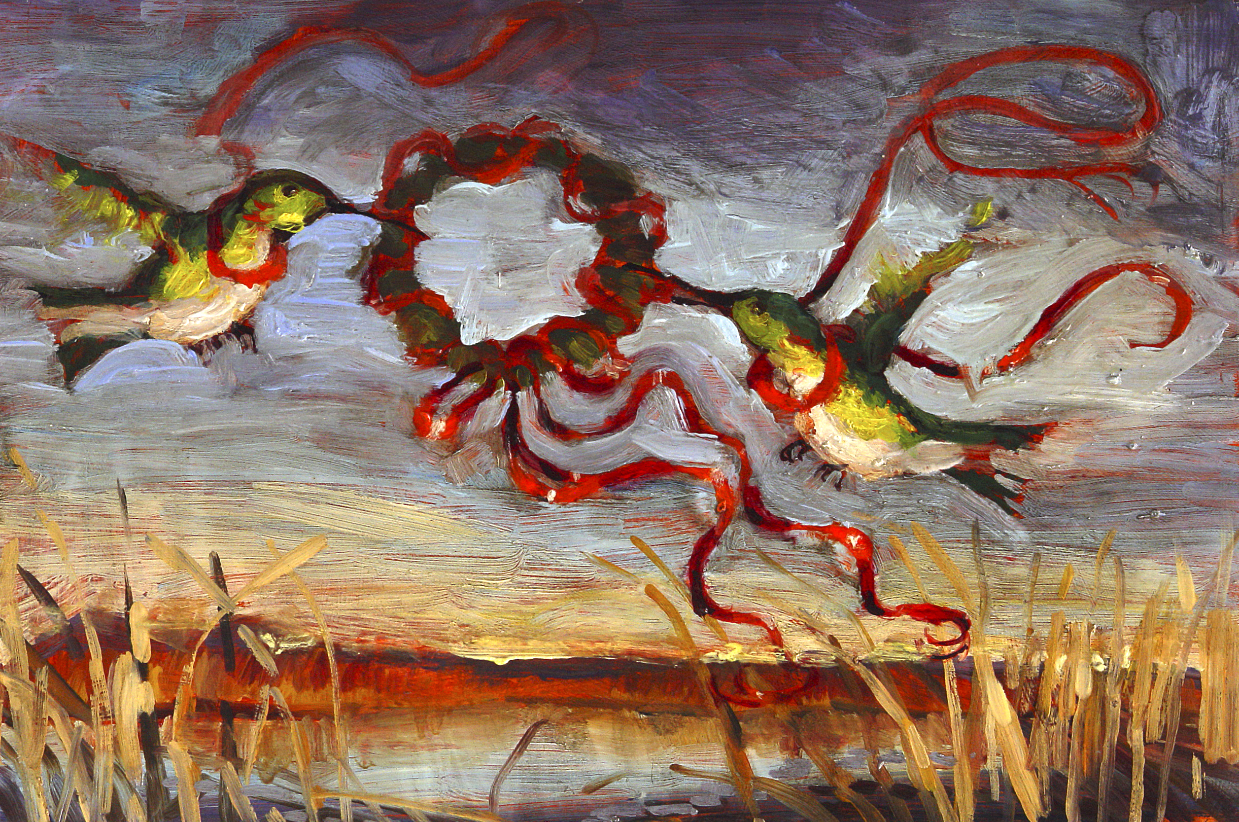 """Bosque Christmas Birds"""