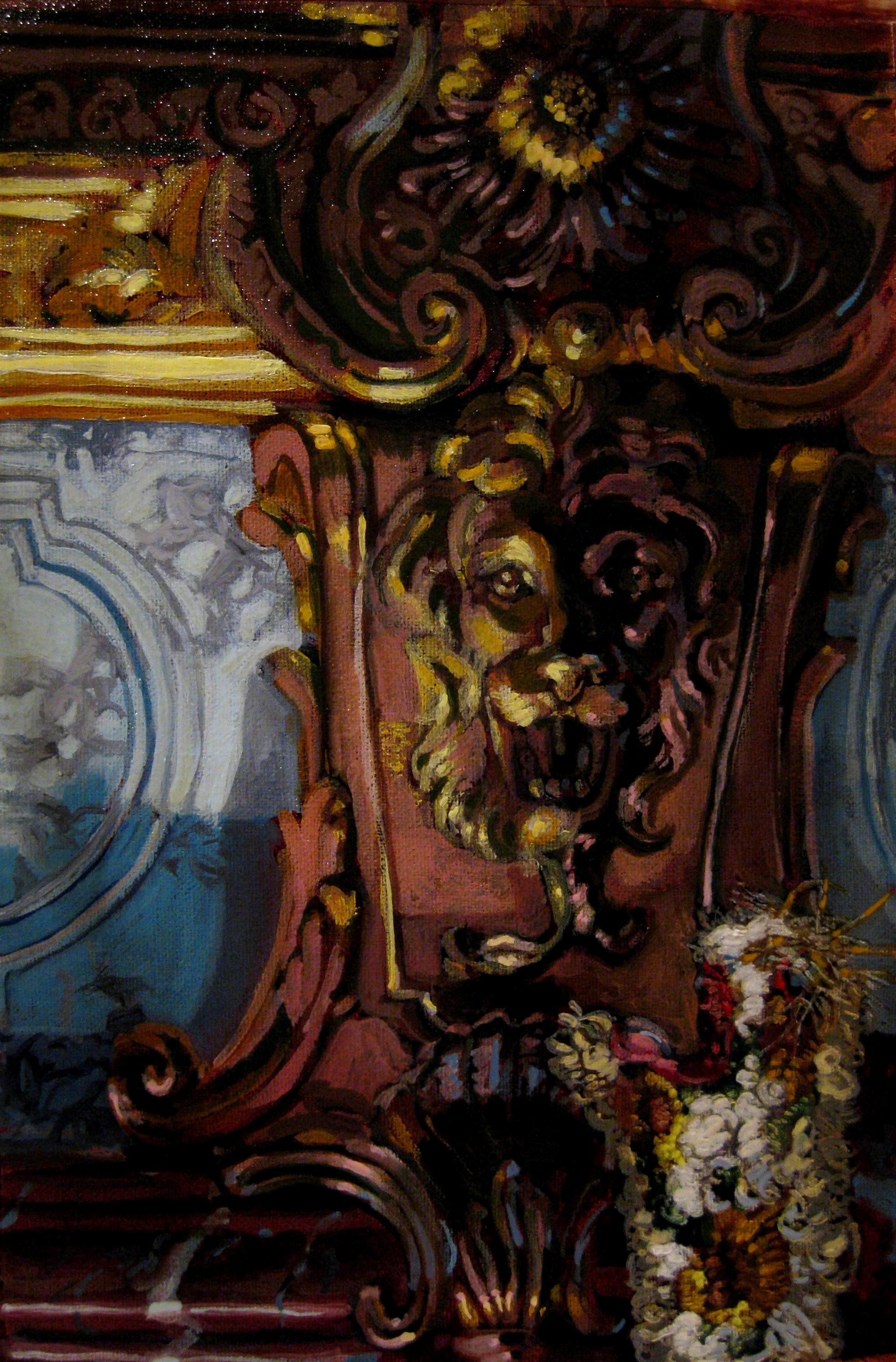 """""""Oven Mitt Inside Versailles"""""""