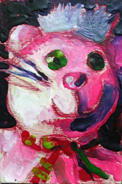 Pink Punk Kitten