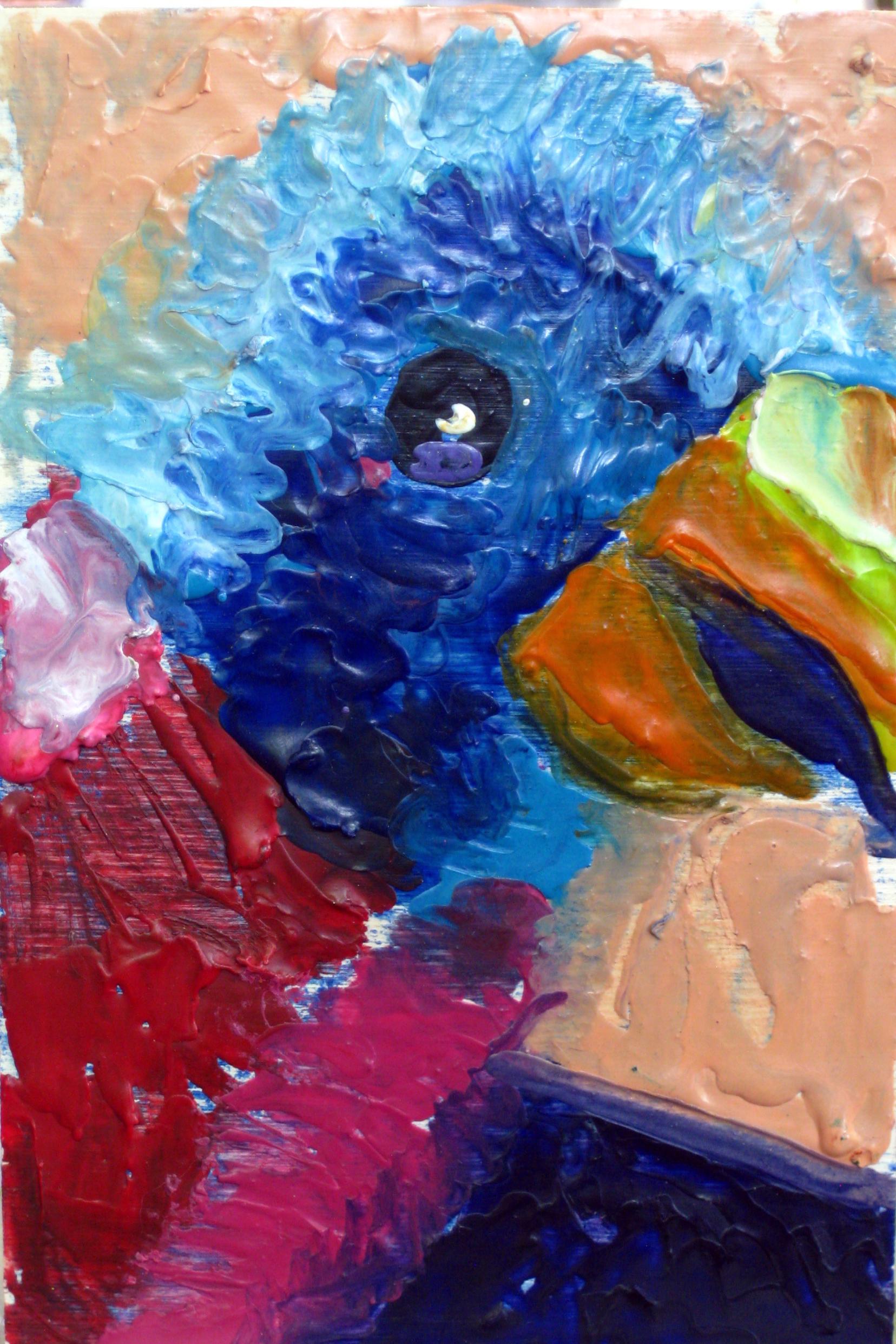 Pencil Topper Parrot