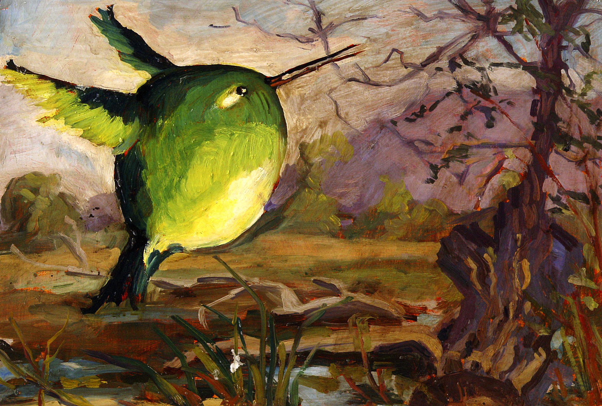 """""""Green Bird"""""""