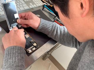 iPhone修理技術研修&店舗実践研修