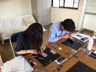iPhone修理ビジネス開業研修(講習)上級コース 埼玉県越谷市で出張研修(講習)行いました!