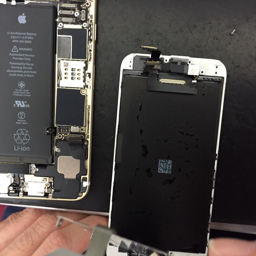 iphone6水没出張修理24時間
