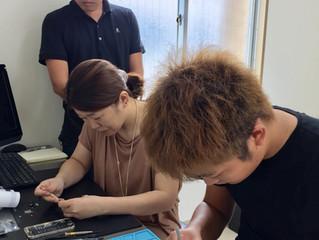 iPhone修理開業ビジネス研修上級コース 京都よりお越しいただきました!