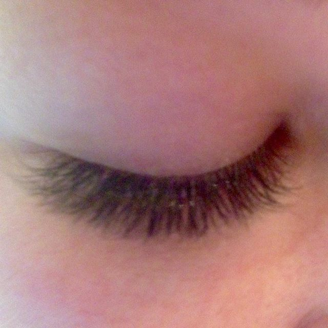 Debbie's lashes after her fill_#eyelashextensions #eyelash #eyelashes #misencil #misencillashes #eye