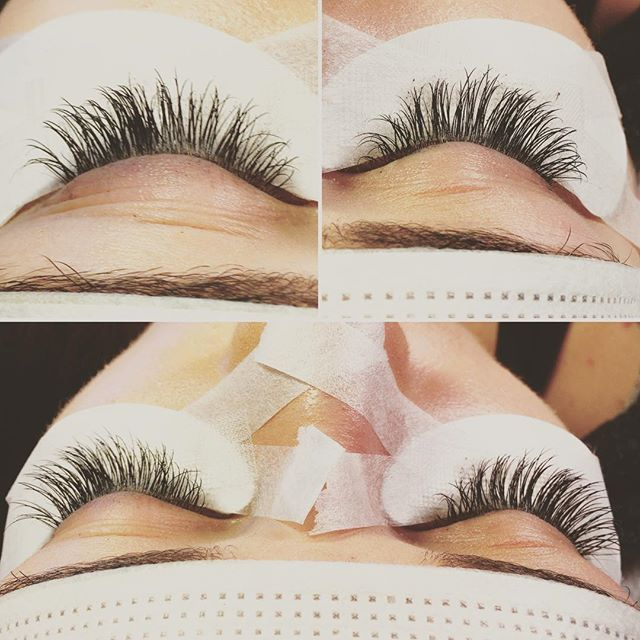 Permanent eyelash extensions applied with the fastest drying glue in the world! HD and Premium glue