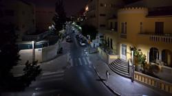 Street Light (after Hopper's Night shadows) | פנס רחוב