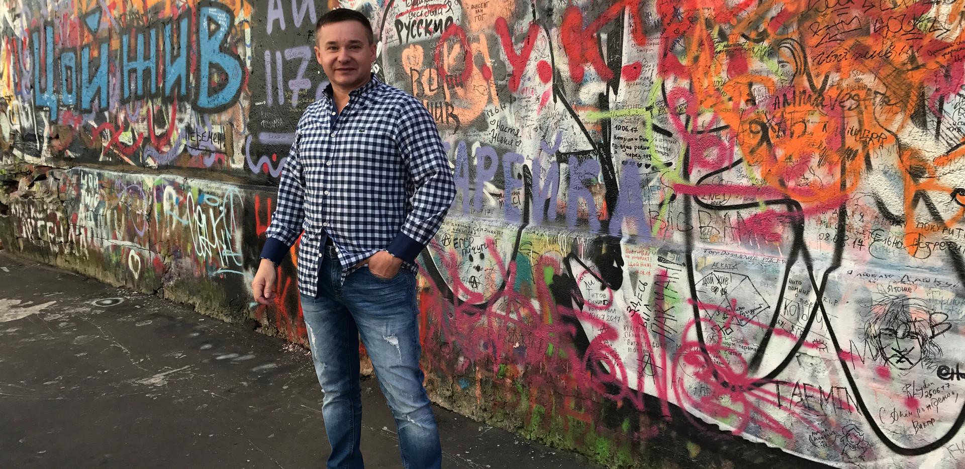 Producent Roman Rossi v Moskvě