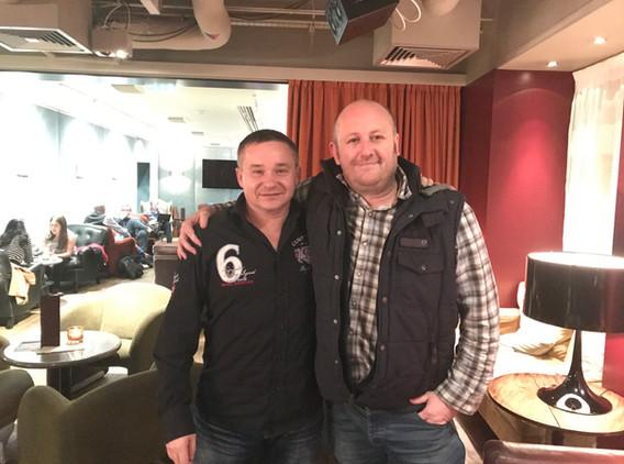 Roman Rossi a Andrew Murray v Londýně