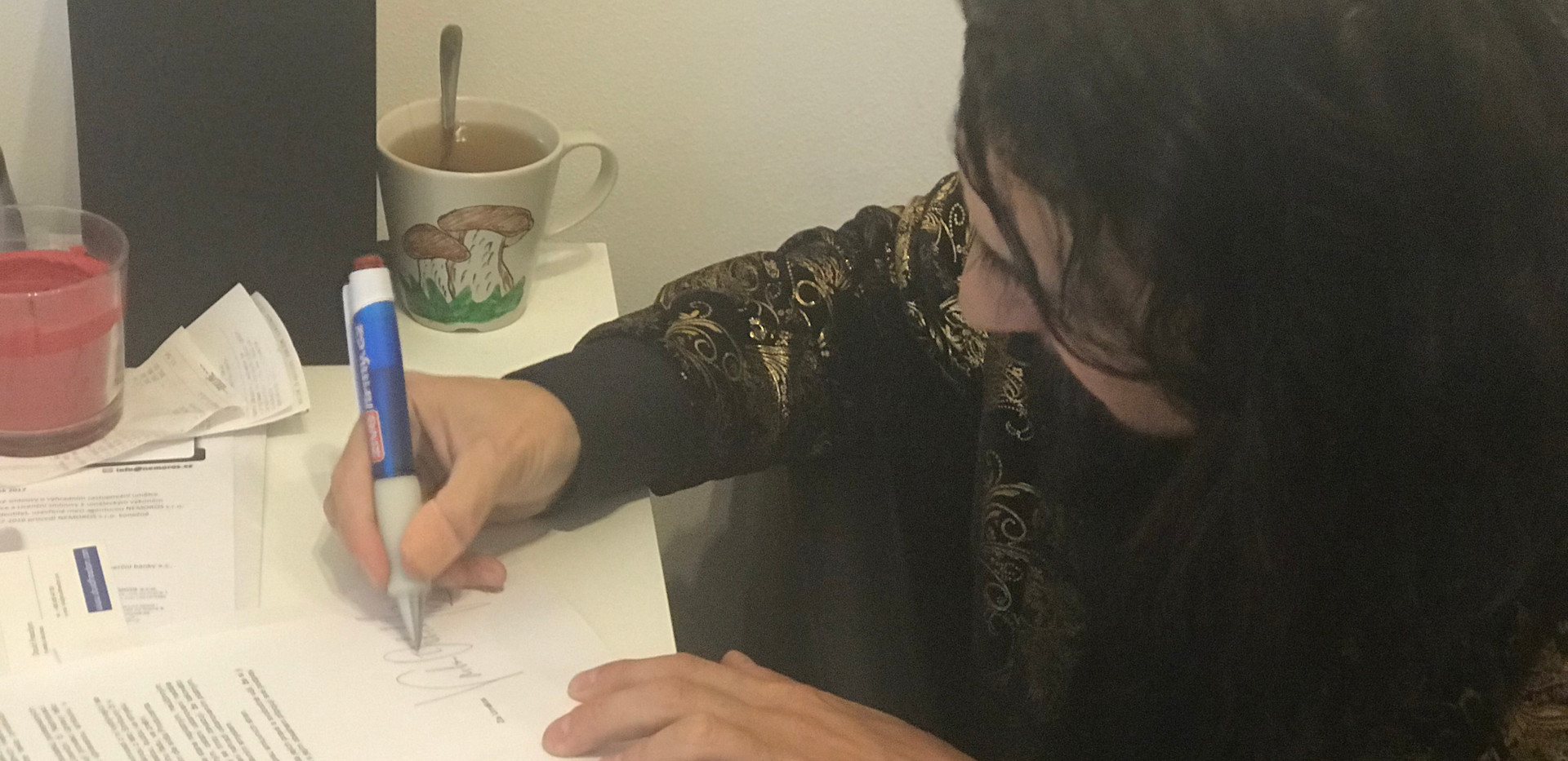 Varhan podepsal smlouvu na Publishing