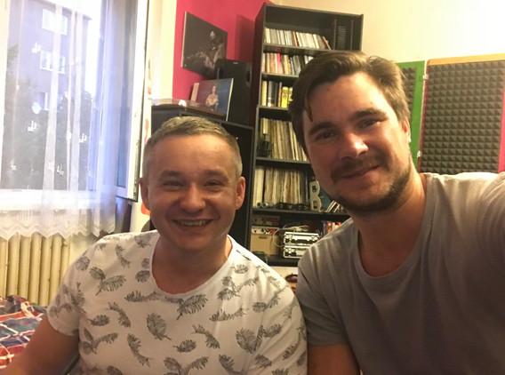 Producent Roman Rossi a skladatel Jiří Vidasov