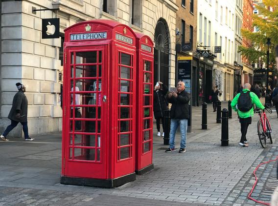 Telefonní budka Londýn